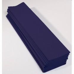 Feuille de Papier Crépon 60pourcent Bleu Marine