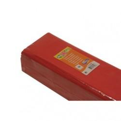 Feuille de Papier Crépon 60pourcent Rouge