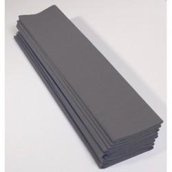 Feuille de Papier Crépon 60pourcent Gris