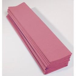 Feuille de Papier Crépon 60pourcent Rose Pâle