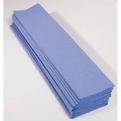 Feuille de Papier Crépon 60pourcent Bleu Pâle